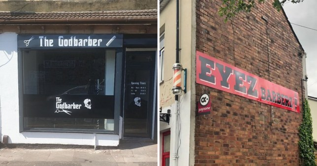 The Godbarber and Eyez Barberz in Wolverhampton were closed by Wolverhampton City Council