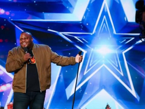 Britain's Got Talent: Comedian Nabil Abdulrashid becomes Alesha Dixon's golden buzzer