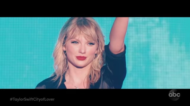 Taylor Swift City of Lover Concert special