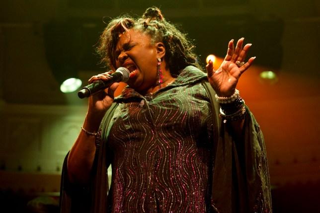 American soul singer Betty Wright