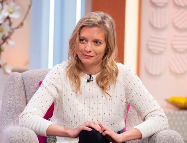 Rachel Riley appearing on Lorraine (Credits: Ken McKay/ITV/REX)