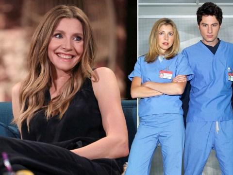 Scrubs star Sarah Chalke teases virtual cast reunion after Sam Lloyd's tragic death