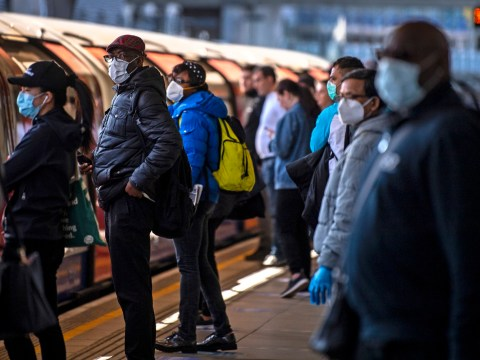 People told to 'face away from' each other on public transport