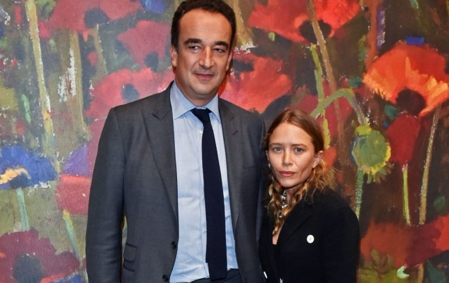 Olivier Sarkozy, Mary-Kate Olsen at the 'Take Home a Nude' annual auction and dinner