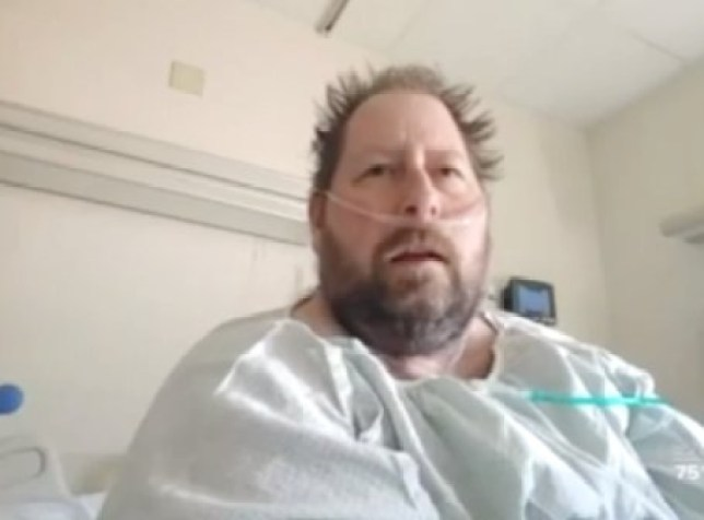 Man who said 'coronavirus is hoax' changes mind when he's hospitalised with wife (Picture: WPTV)