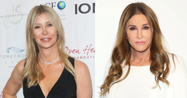 Caitlyn Jenner and close friend Sophia Hutchins pictured separately