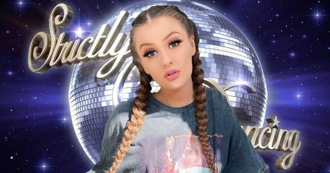 Strictly 'eyeing up TikTok star Holly H'