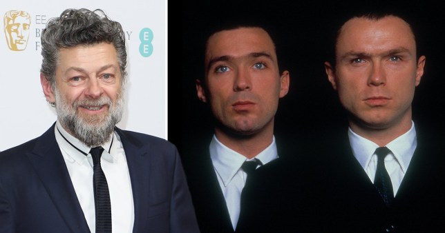 EXCL: Andy Serkis almost played alognside Martin Kemp in The Krays (Picture: Getty, Rex)