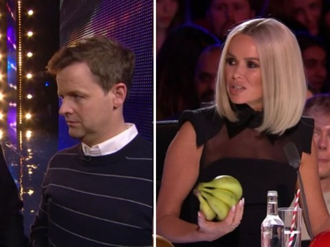 Britain's Got Talent unseen clip: Ant and Dec pull a hilarious prank on Amanda Holden by sending her bananas