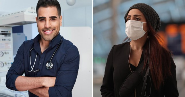 Dr Ranj thinks people wearing face masks unnecessarily is 'stupid'