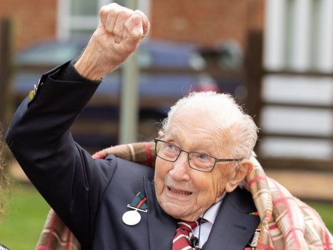 Sir Tom Moore says he is 'overwhelmed' at receiving a knighthood