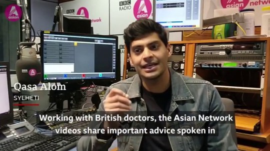 BBC presenters share important message in South Asian languages Picture: bbc METROGRAB