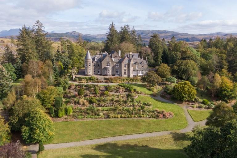 Top 10 most virtually viewed properties in lockdown Glencruitten House