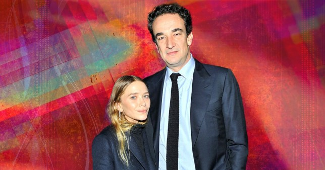 Mary Kate Olsen and Olivier Sarkozy pictured together