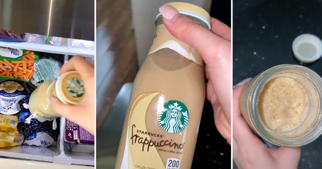 Turns out we've been drinking Starbucks Frappuccino bottles all wrong