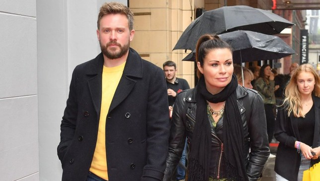 Alison King and fiance David Stuckley