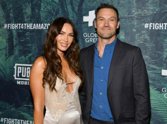 Megan Fox and Brian Austin Green at Fight 4 The Amazon event