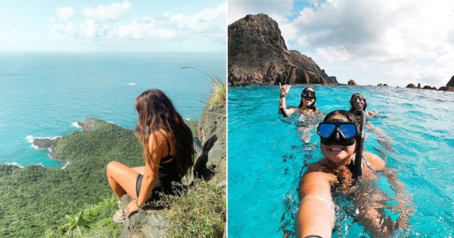 Lord Howe Island has been an idyllic paradise setting for backpackers thousands of miles from home during the pandemic