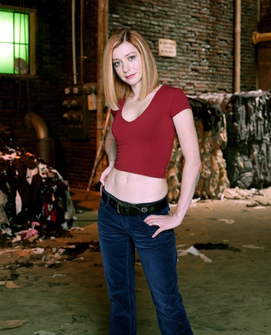 Alyson Hannigan as Willow in Buffy The Vampire Slayer - 2003 20th Century Fox Television USA TV Portrait