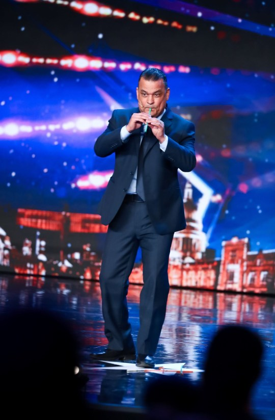 Editorial use only. No book publishing. Mandatory Credit: Photo by Dymond/Thames/Syco/REX (10655324d) Hasan Manawi 'Britain's Got Talent' TV Show, Series 14, Episode 7, UK - 23 May 2020