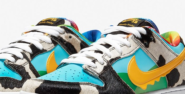 Picture: Ben & Jerry's Where to buy the new Ben & Jerry's x Nike Chunky Dunky trainers