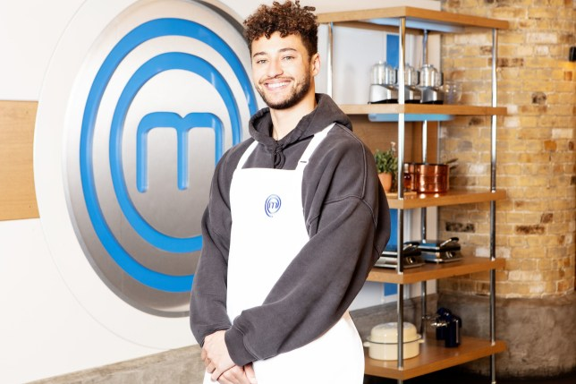 Myles Stephenson on Celebrity MasterChef.