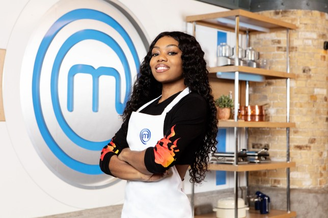 Lady Leshurr on Celebrity MasterChef