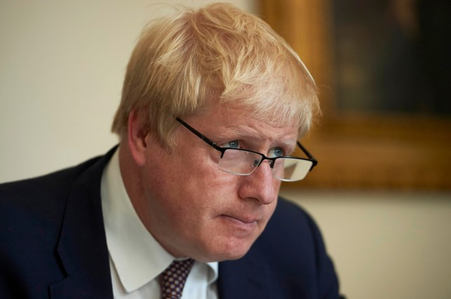 UK Prime Minister, Boris Johnson Says Coronavirus Has Affected His Eyesight