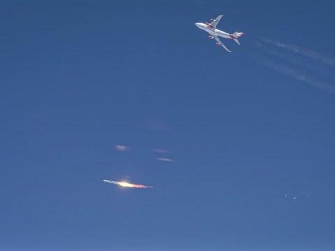 Sir Richard Branson's Virgin Orbit fails to send a rocket into space
