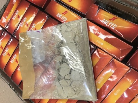 Heroin worth £8.5 million stashed in fruit and nut boxes at Heathrow Airport