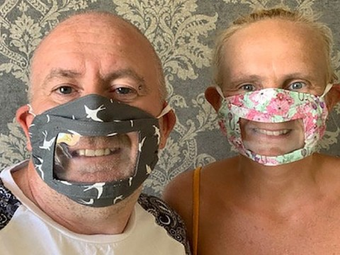 Deaf mum flooded with orders after creating see-through mask for deaf daughter