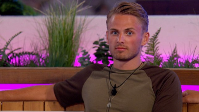 Editorial use only Mandatory Credit: Photo by ITV/REX (9744000g) Charlie Brake reacts to Ellie. 'Love Island' TV Show, Series 4, Episode 33, Majorca, Spain - 06 Jul 2018 Tension Rises in the Villa Following the Dramatic Dumping It's a New Day in the Villa - Will the Drama Continue? The Islanders Clear the Air by Taking Part in a Saucy Dance Off