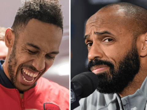 Thierry Henry gives advice to Pierre-Emerick Aubameyang over Arsenal contract situation