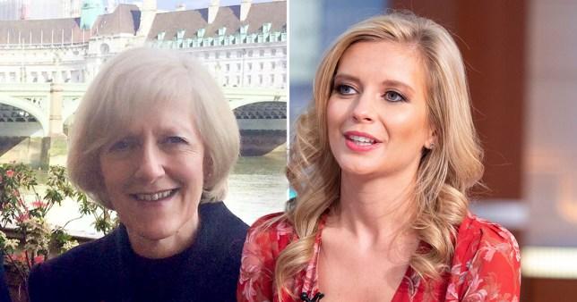 Rachel Riley's mum had coronavirus