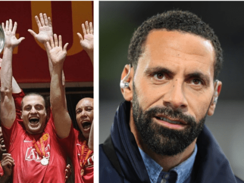 Rio Ferdinand names the current Man Utd player who would get into 2008 Champions League winning side