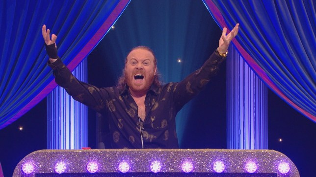 Keith Lemon on Celebrity Juice