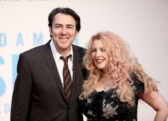 Jonathan Ross and Jane Goldman/