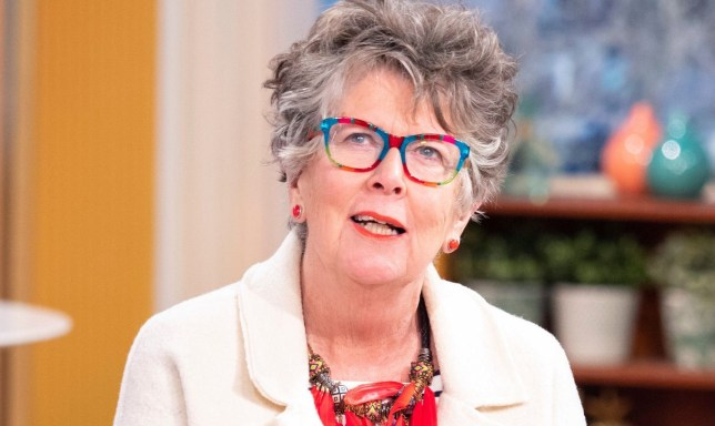 PRUE LEITH ON BAKE OFF,