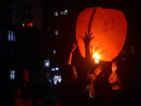 More parts of the UK banning sky lanterns and helium balloons