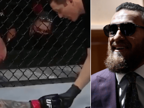 Conor McGregor reacts to horrifying moment UFC star Anthony Smith hands tooth to referee during fight