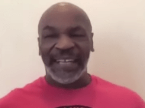 Mike Tyson sends fresh message to Evander Holyfield after latest training video