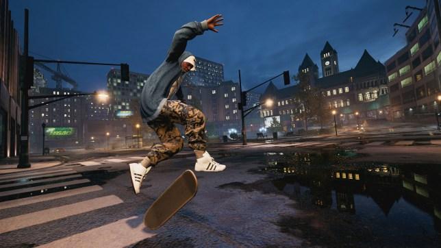 Tony Hawk Pro Skater remastered