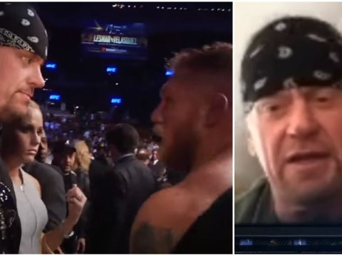 The Undertaker reveals true story behind his Brock Lesnar confrontation at UFC 121