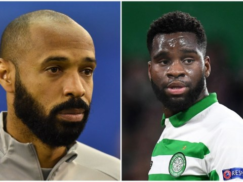 Thierry Henry rates Arsenal target Odsonne Edouard after his impressive spell at Celtic