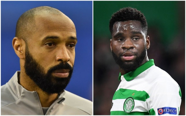 Thierry Henry is said to be a huge fan of Celtic striker Odsonne Edouard