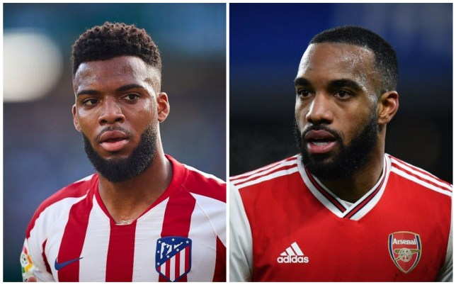 Thomas Lemar could be on his way to Arsenal while Alexandre Lacazette moves to Atletico Madrid