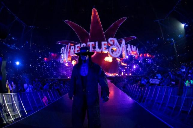The Undertaker at WrestleMania XXX