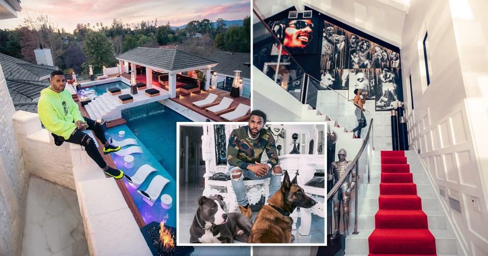 Inside Jason Derulo's $3million Californian mansion
