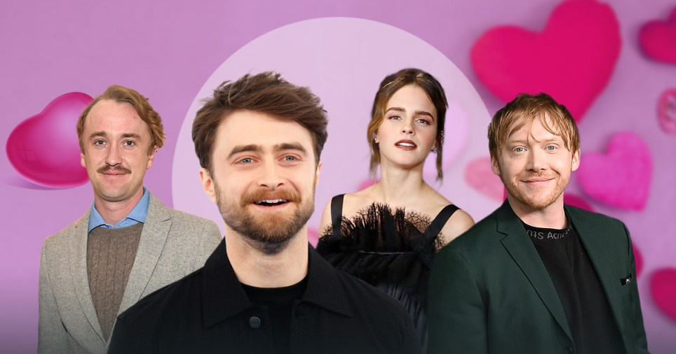 Love lives of the Harry Potter stars