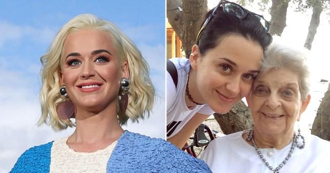 Katy Perry grandmother